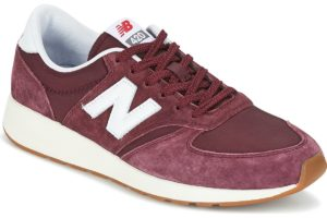 new balance 420 mens red red trainers mens