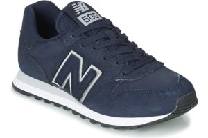 new balance 500 womens blue blue trainers womens