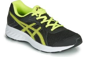 asics jolt mens black black trainers mens