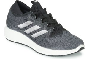 adidas edge flex womens black black trainers womens