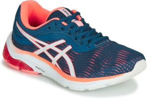 asics gel pulse womens blue blue trainers womens