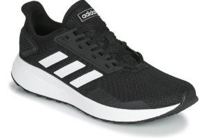 adidas duramo mens black black trainers mens