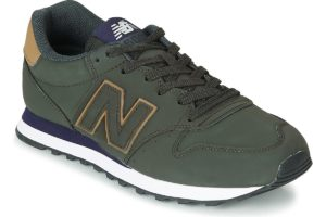 new balance 500 mens green green trainers mens