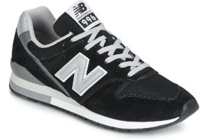 new balance 996 mens black black trainers mens