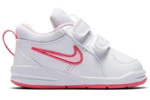 Nike Pico Girls White 454478 103 White Sneakers Girls