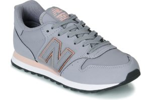 new balance 500 womens grey grey trainers womens
