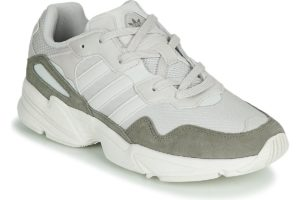 adidas yung mens white white trainers mens
