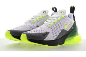 Nike Air Max 270 Mens Silver Cj0550 001 Silver Sneakers Mens