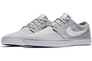 nike-sb solarsoft portmore-mens-grey-880268-011-grey-sneakers-mens