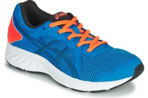 asics jolt mens blue blue trainers mens