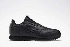 reebok-classic leather ripple-Kids-black-DV8992-black-trainers-boys