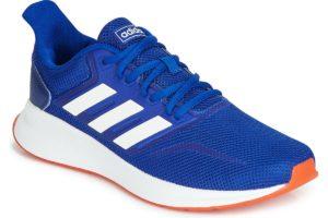 adidas runfalcon mens blue blue trainers mens
