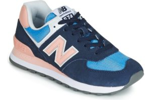 new balance 574 womens blue blue trainers womens
