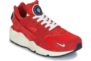 nike huarache mens red red trainers mens