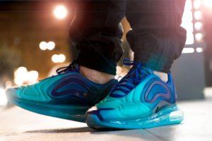 Nike Air Max 720 Heren Blauw Ao2924 405 Blauwe Sneakers Heren