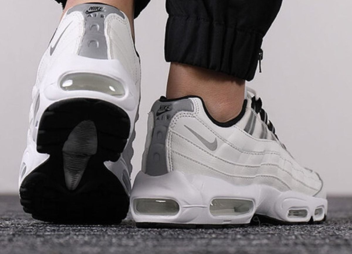 Nike Air Max 95 White Womens