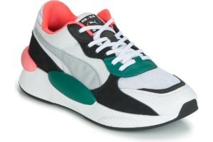 puma rs womens white white trainers womens
