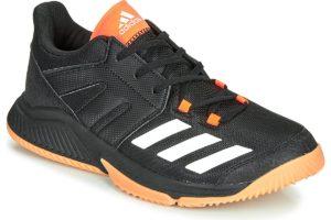 adidas essence mens black black trainers mens