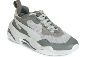 puma thunder mens grey grey trainers mens