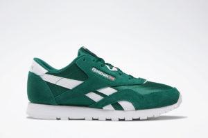 reebok-classic nylon-Kids-green-DV9373-green-trainers-boys