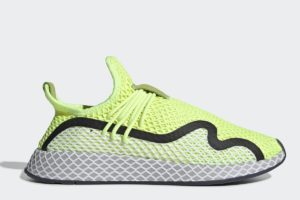adidas-deerupt s runners-womens-yellow-BD7881-yellow-trainers-womens