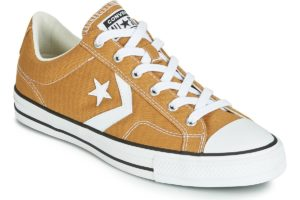 converse star player mens yellow yellow trainers mens