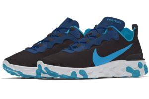 Nike React Element Mens Blue Cj1496 991 Blue Trainers Mens