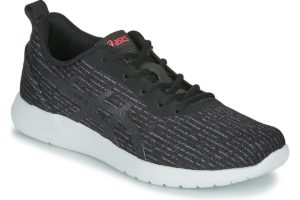 asics overig womens black black trainers womens
