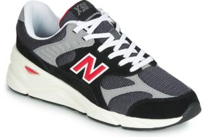 new balance x90 mens black black trainers mens