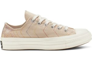 converse-all star ox-womens-beige-164966C-beige-trainers-womens