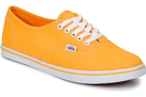 vans-authentic lo pro (trainers) in-womens-orange-t9nb9u-orange-sneakers-womens