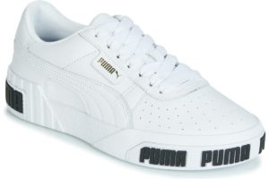 puma cali womens white white trainers womens