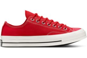 converse-all star ox-mens-red-165469C-red-trainers-mens