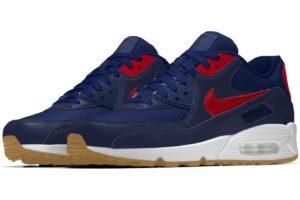 Nike Air Max 90 Mens Blue Cw6940 992 Blue Trainers Mens