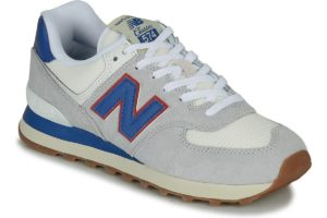 new balance 574 mens grey grey trainers mens