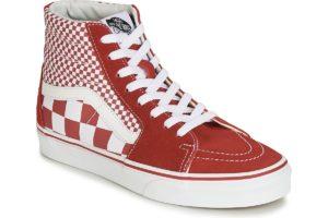 vans-sk8-hi (high-top trainers) in-womens-red-vn0a38gevk51-red-sneakers-womens