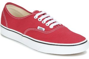vans-authentic (trainers) in-womens-red-38emq9u-red-sneakers-womens