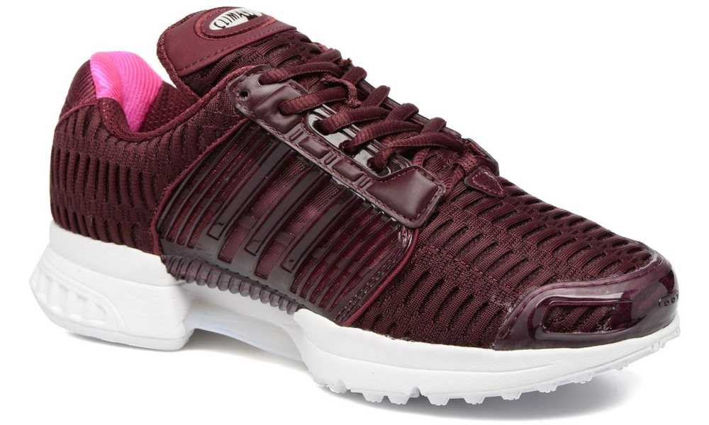 Burgundy Trainers Womens