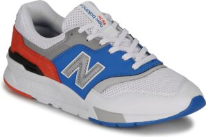 new balance 997 mens white white trainers mens