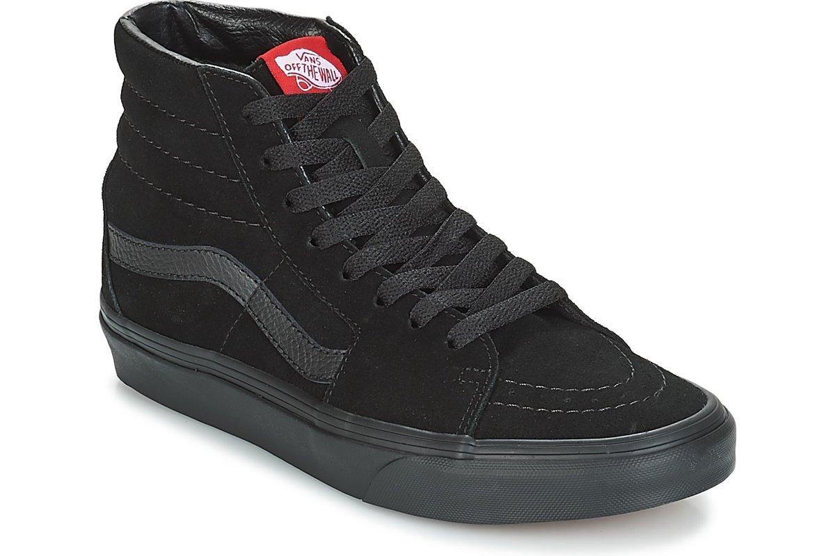 vans-sk8-hi (high-top trainers) in-womens-black-vd5ibka-black-sneakers-womens