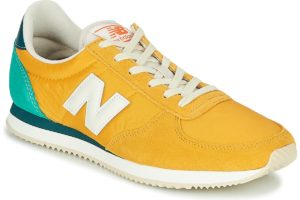 new balance 220 mens yellow yellow trainers mens
