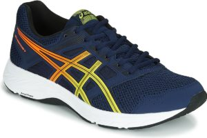 asics gel contend mens blue blue trainers mens