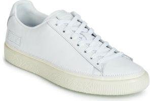 puma basket mens white white trainers mens