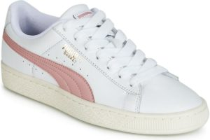 puma basket mens white white trainers mens