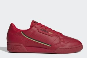 adidas-continental 80-womens-red-EE4144-red-trainers-womens