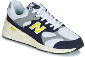 new balance x90 mens white white trainers mens
