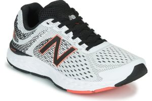 new balance 680 mens white white trainers mens