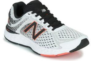 new balance 680 mens white white trainers mens