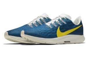 nike air zoom pegasus 36 premium by you custom nikeid blue