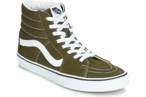 vans-sk8-hi (high-top trainers) in-womens-green-vn0a4bv6v7d1-green-sneakers-womens